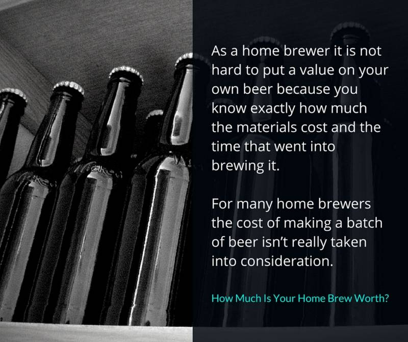 Home Brew Cost