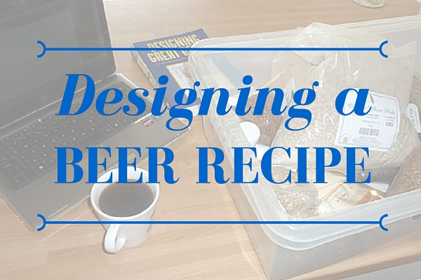 Designing a Beer Recipe