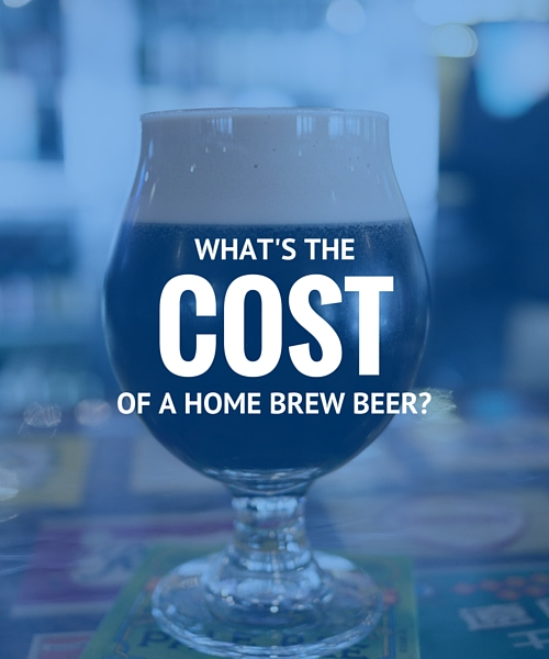 How Much Does Home Brew Cost