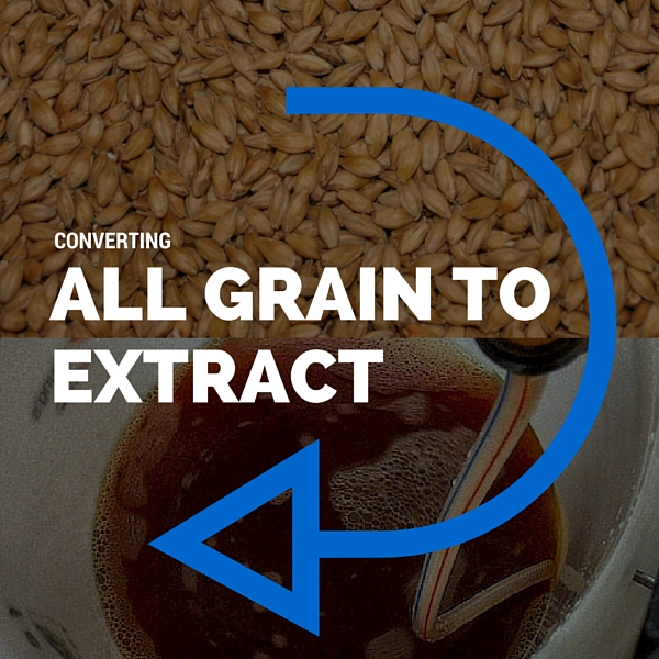 Converting All Grain Recipes To Malt Extract