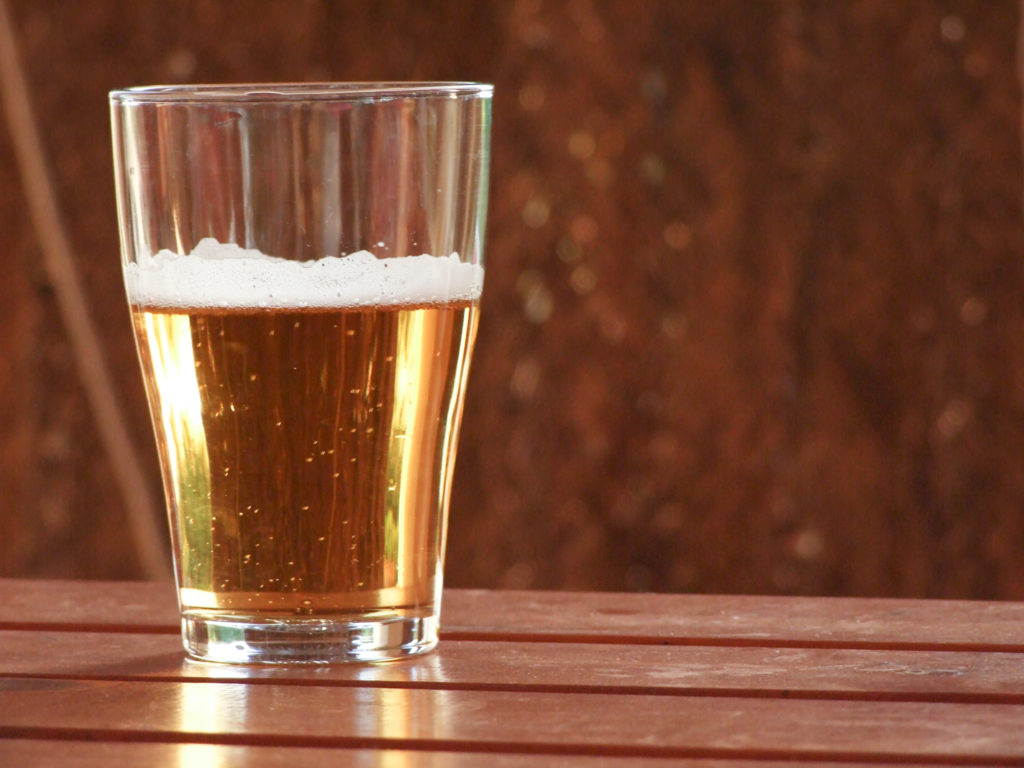 Clear Home Brew Beer