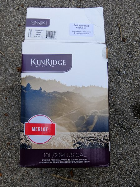 Kenridge Classic Wine Kit Review