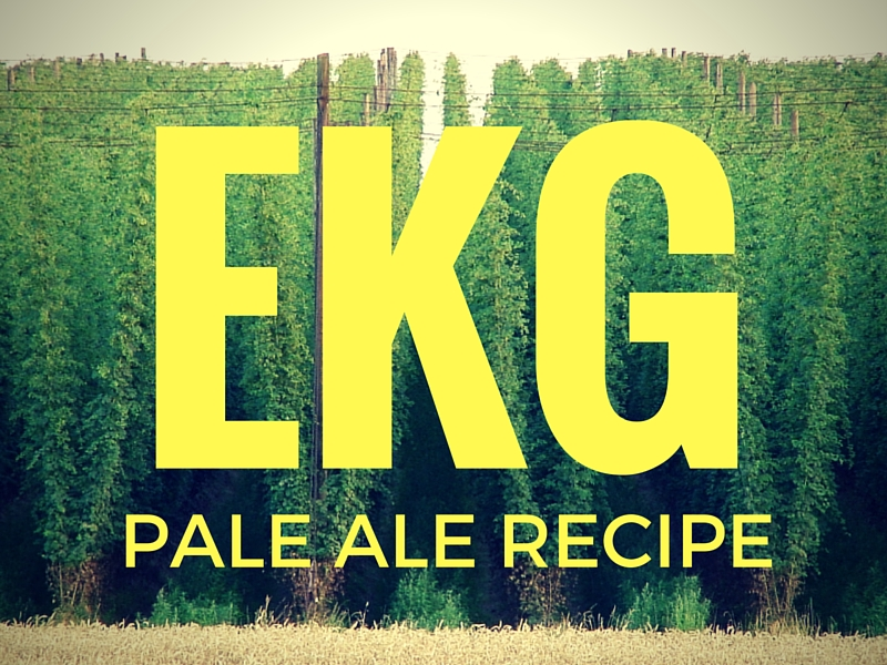A Nod To Summer Lightning – East Kent Golding Pale Ale Recipe