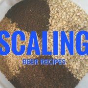 Scaling Beer Recipe