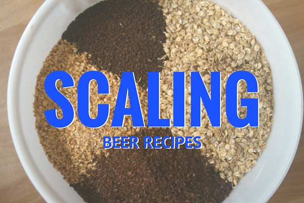 Scaling Beer Recipes By Volume and Efficiency