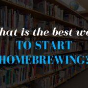 Start Home Brewing