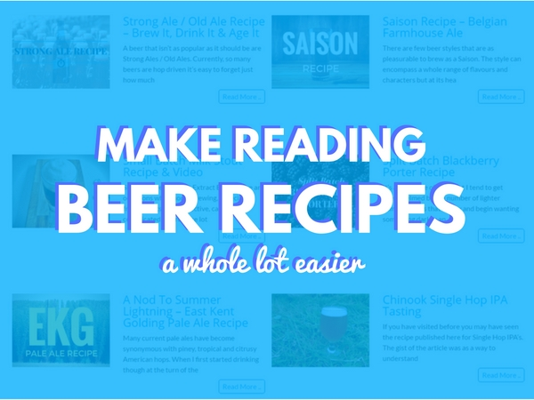 Install This Chrome Extension To Make Reading Beer Recipes A Whole Lot Easier