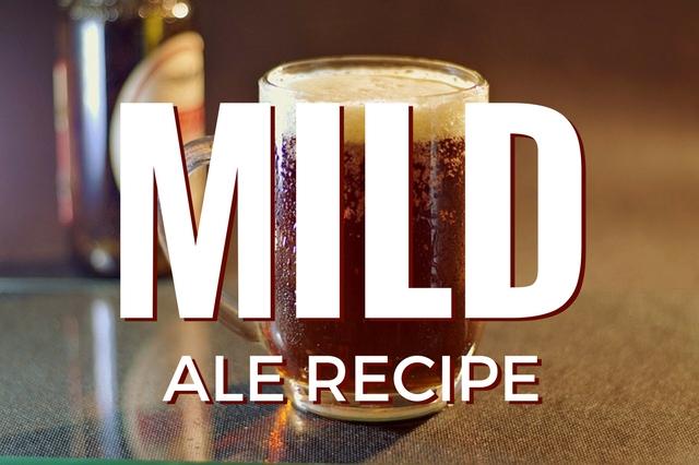 MILD Ale recipe